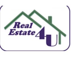 Real Estate 4U Homes logo