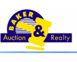 BAKER AUCTION & REALTY logo